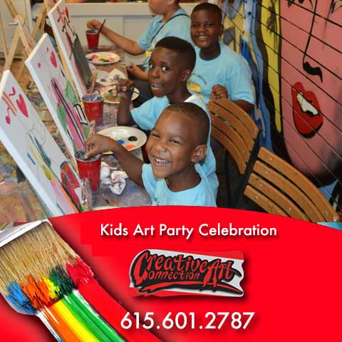 Atlanta Kids Art Birthday Parties