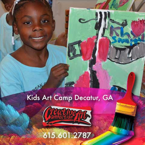 Decatur Georgia Kids Art Parties