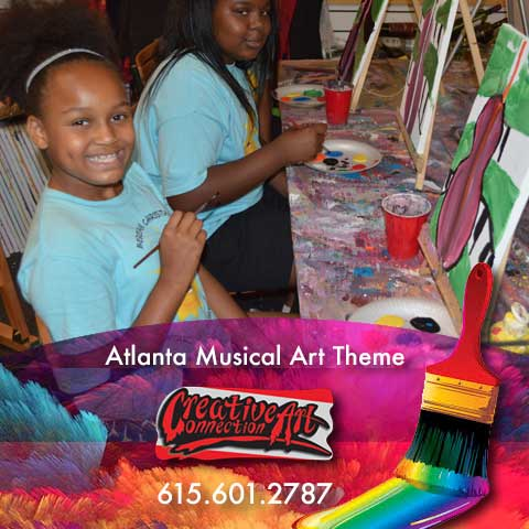 Birthday Party Package & Art Classes Kids Parties