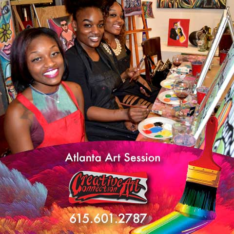 Decatur Georgia Art  Session