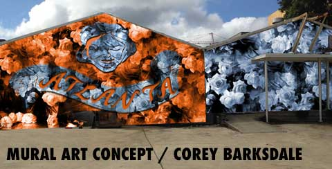 Corey Barksdale Atlanta Mural Artist For Hire Mural Service We Offer Complete Mural Services