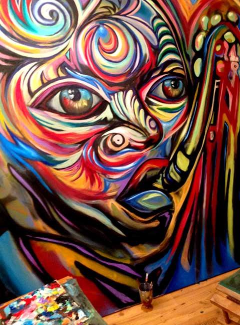 Corey Barksdale Atlanta Mural Artist For Hire Mural